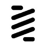Auction coin crypto logo