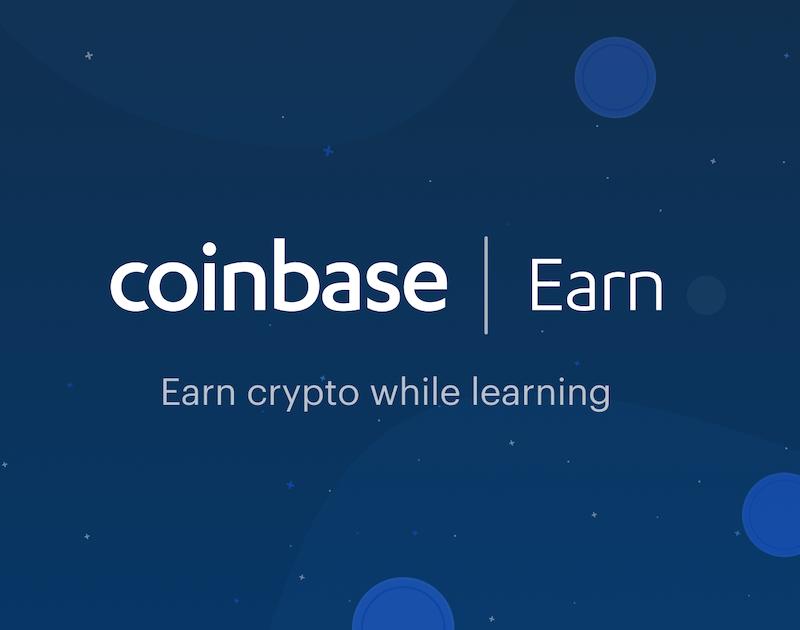 Coinbase Earn: Verdien crypto's door erover te leren