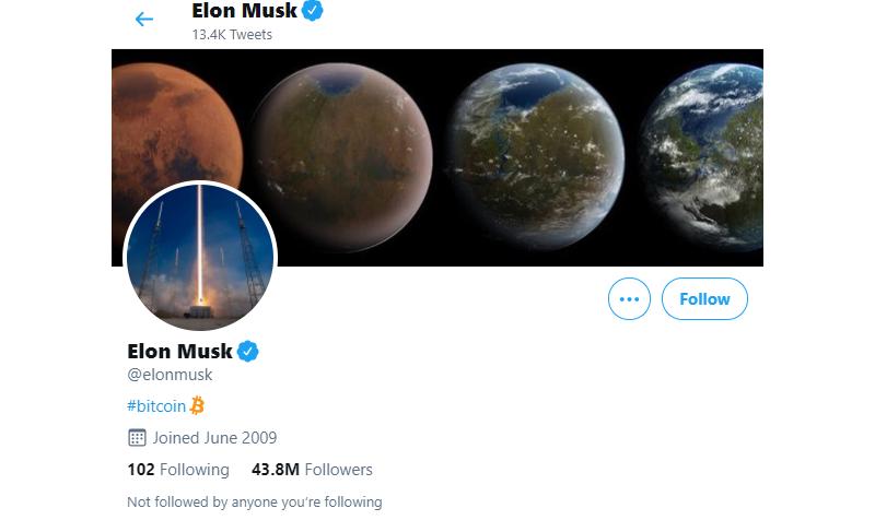 Elon Musk laat Bitcoin met $6000 stijgen binnen een uur